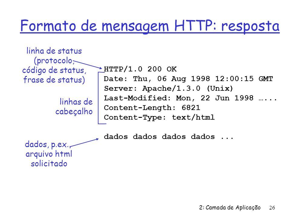 arquivo html solicitado