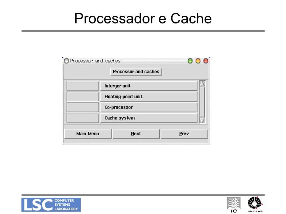 Processador e Cache