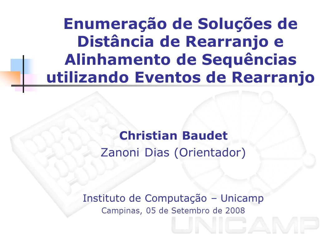 Christian Baudet Zanoni Dias (Orientador)