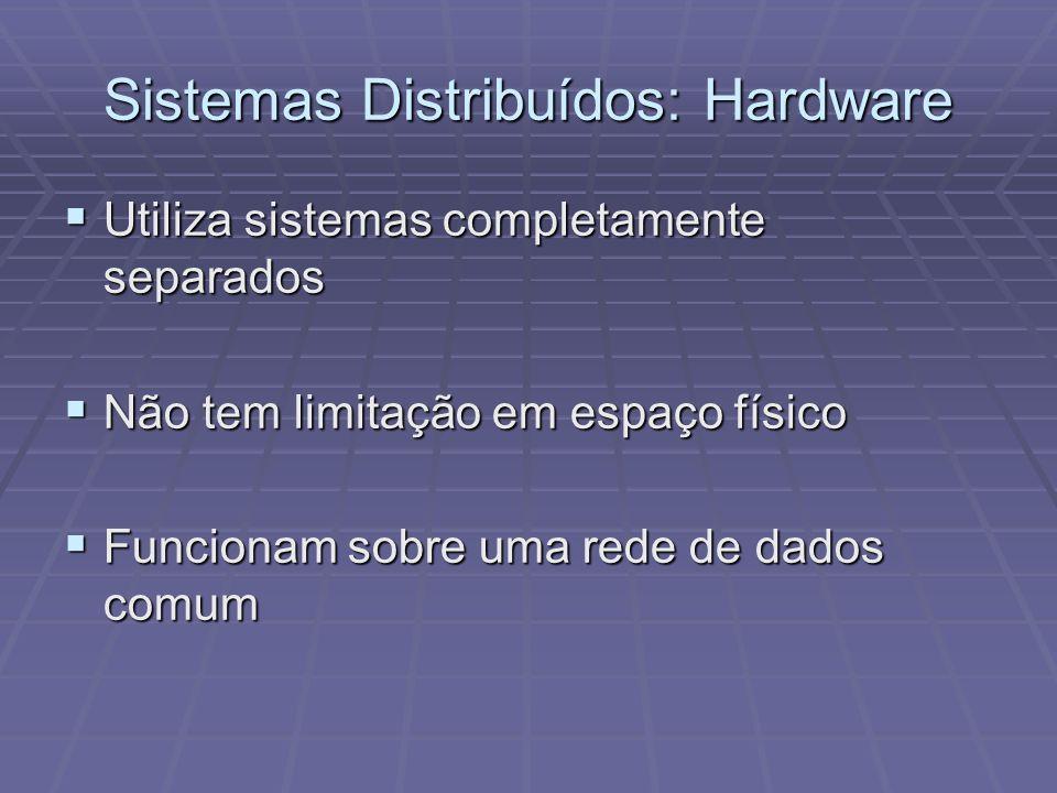 Sistemas Distribuídos: Hardware