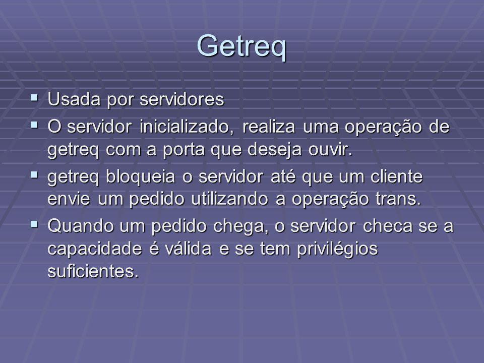 Getreq Usada por servidores