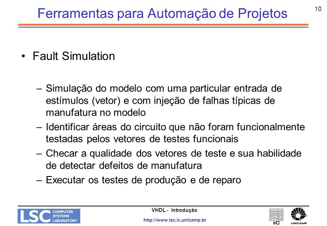 Ferramentas para Automação de Projetos