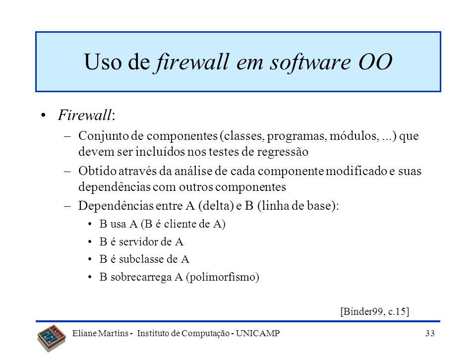 Uso de firewall em software OO