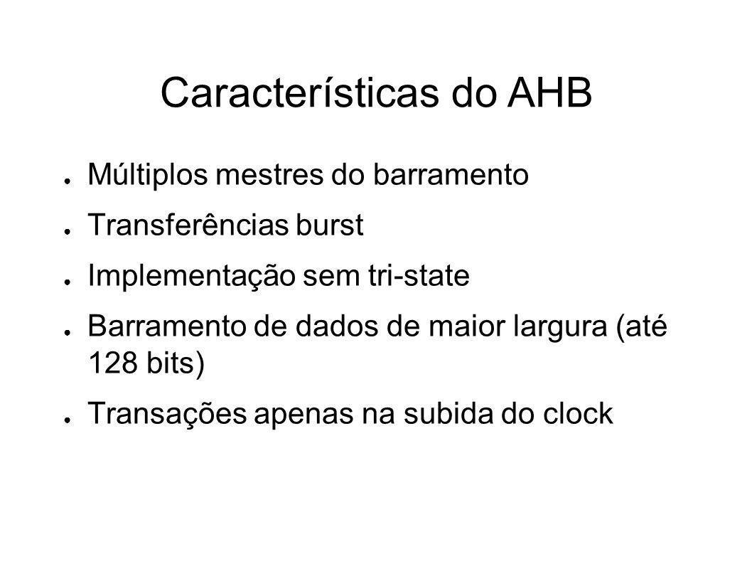 Características do AHB