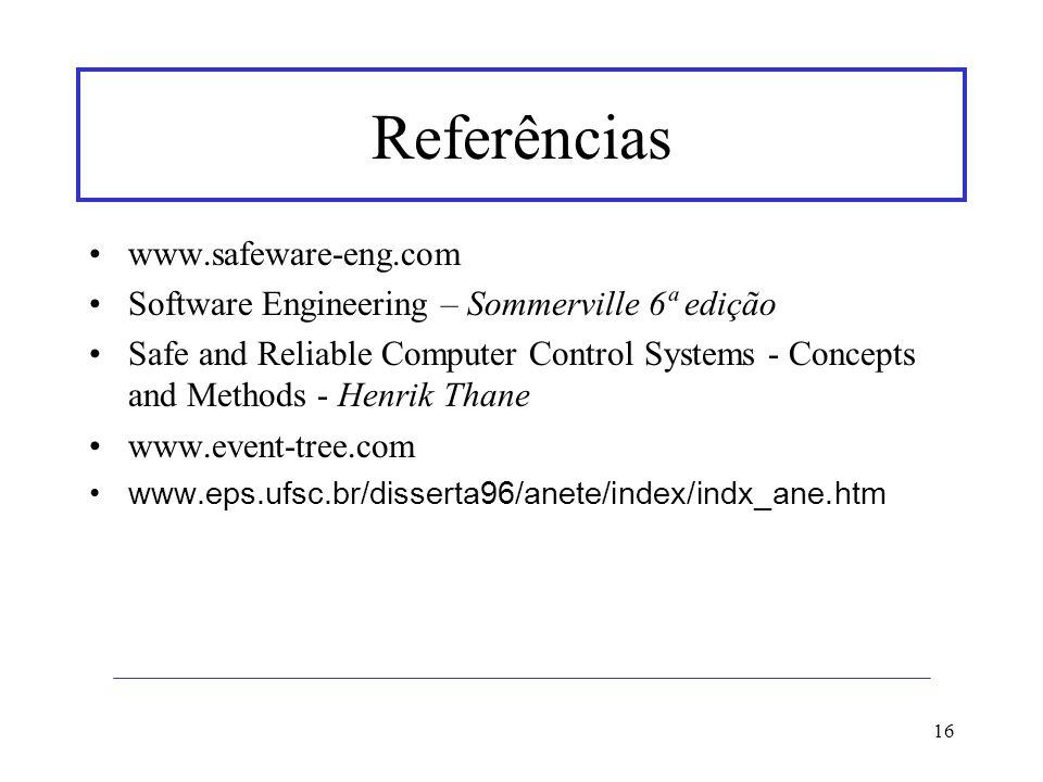 Referências www.safeware-eng.com