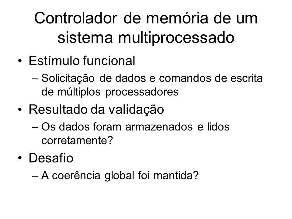 Controlador de memória de um sistema multiprocessado
