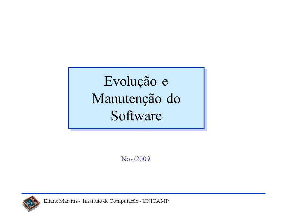 Evolução e Manutenção do Software