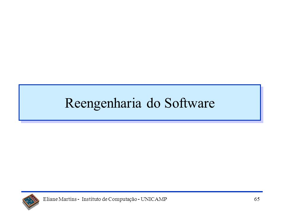 Reengenharia do Software