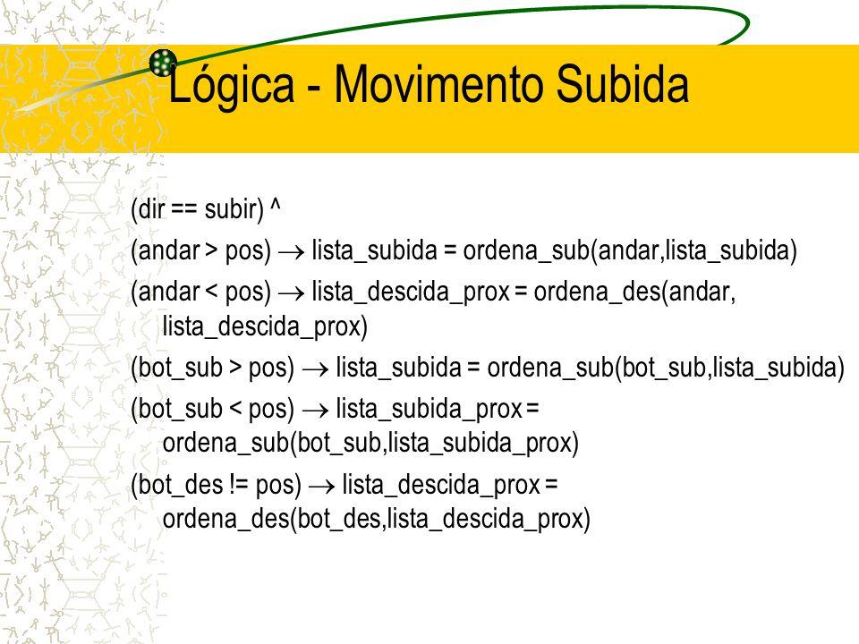 Lógica - Movimento Subida