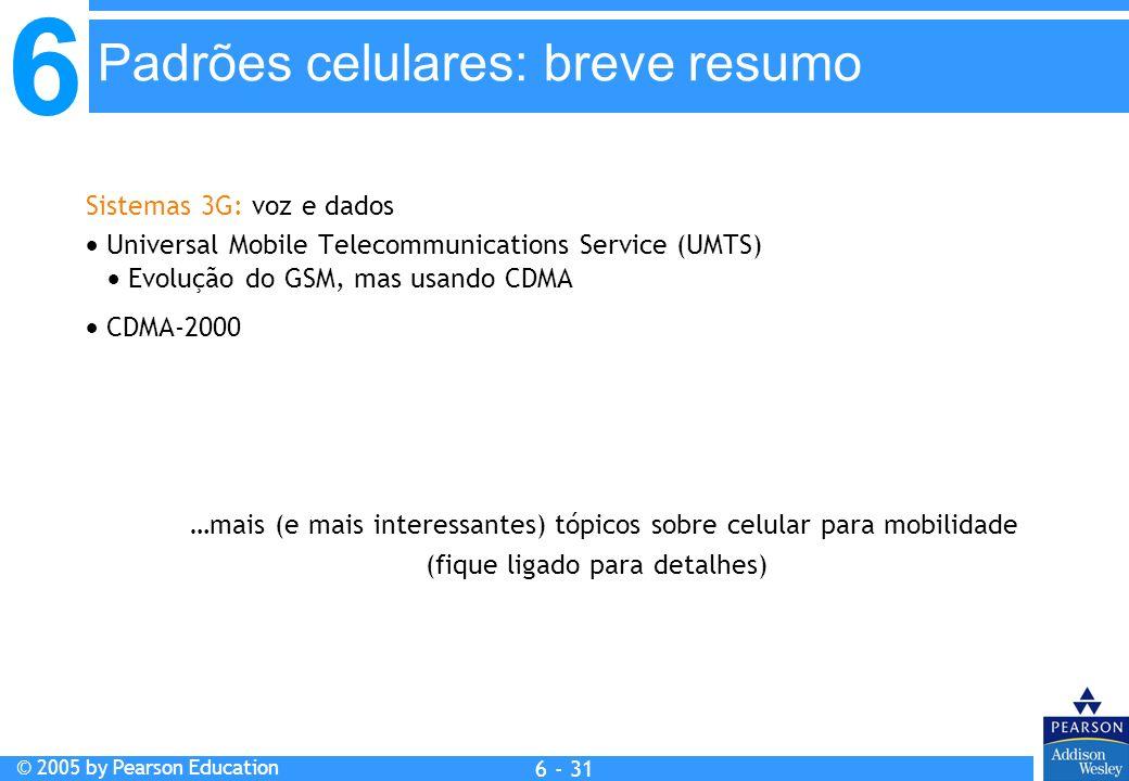 Padrões celulares: breve resumo