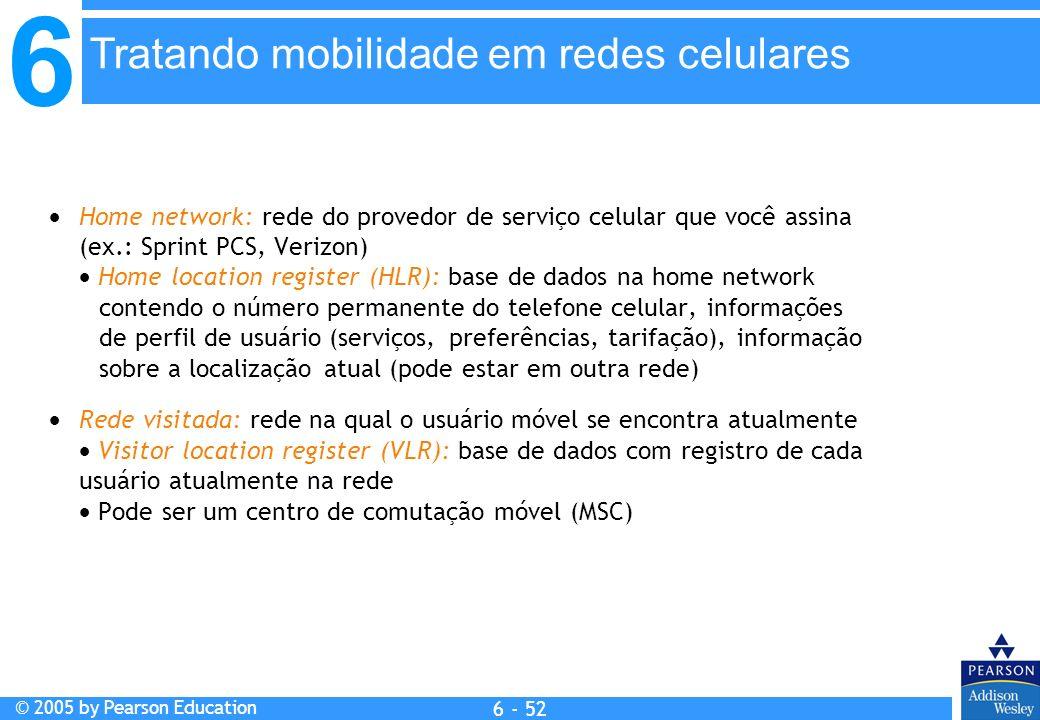 Tratando mobilidade em redes celulares