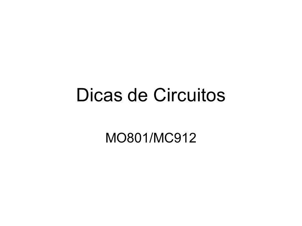 Dicas de Circuitos MO801/MC912