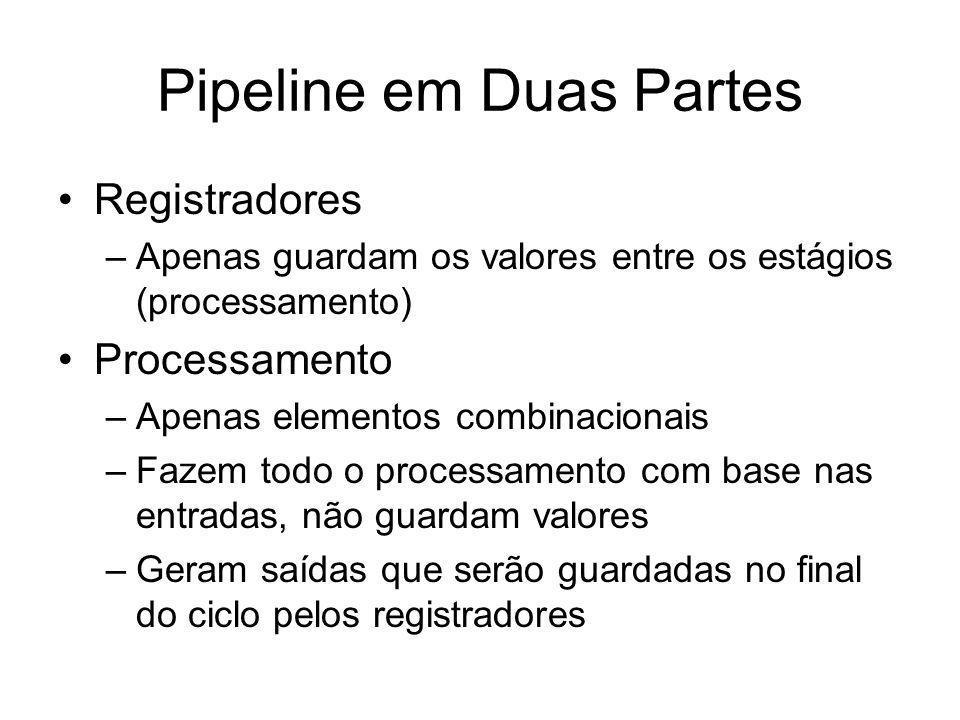 Pipeline em Duas Partes