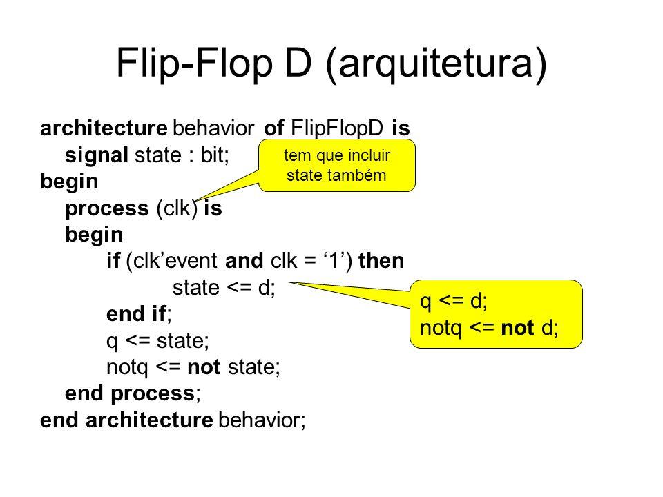 Flip-Flop D (arquitetura)