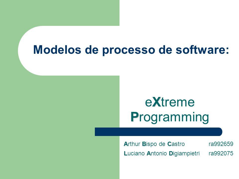 Modelos de processo de software: