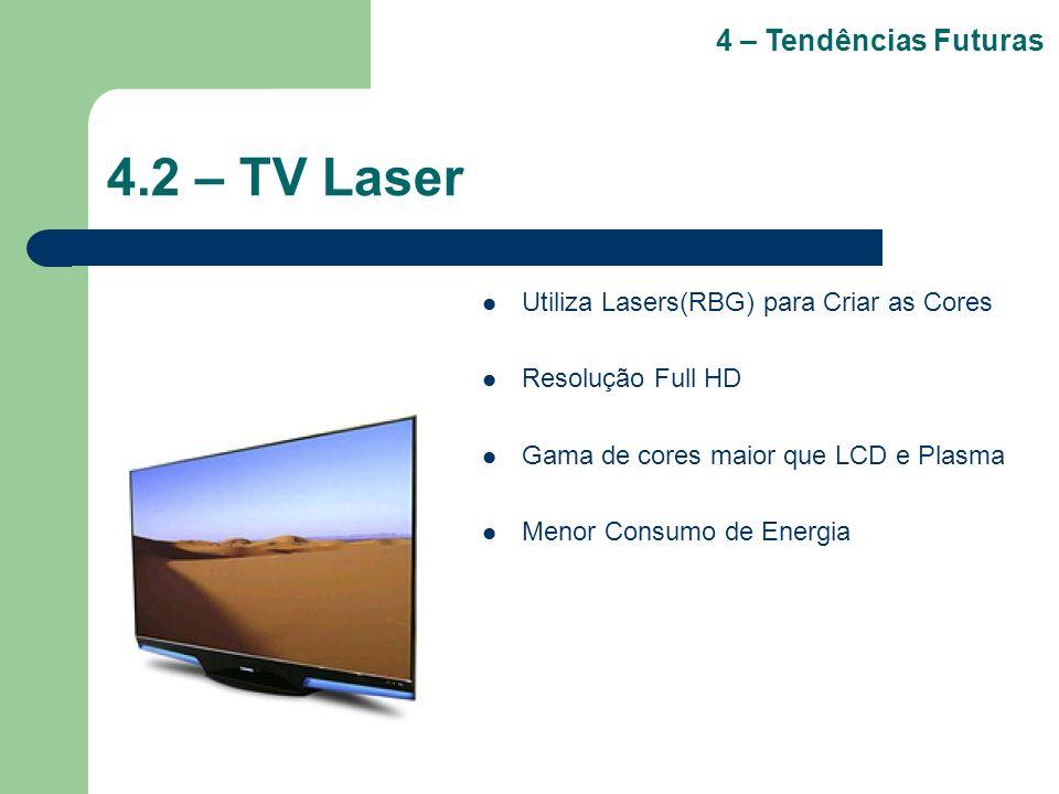 4.2 – TV Laser 4 – Tendências Futuras