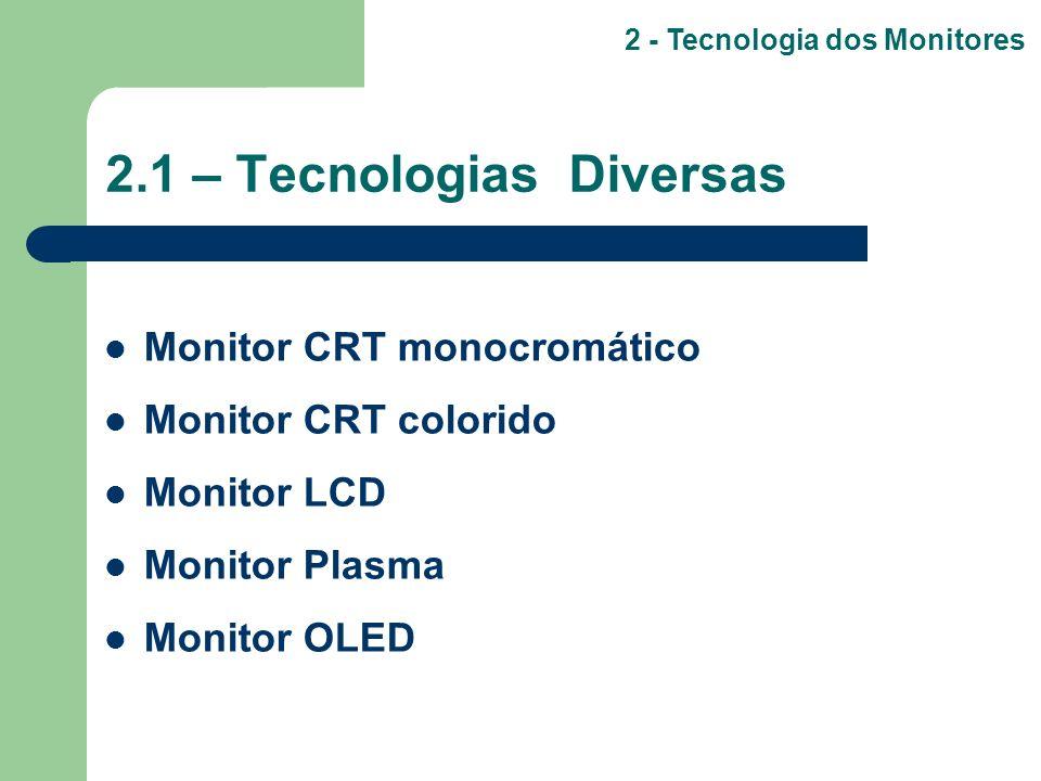 2.1 – Tecnologias Diversas