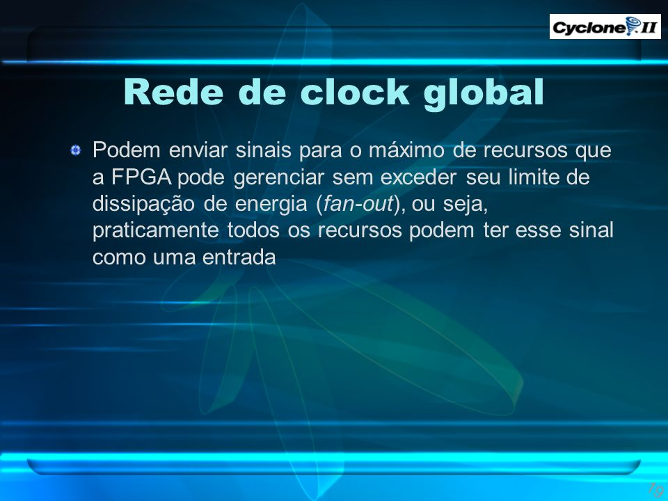 Rede de clock global