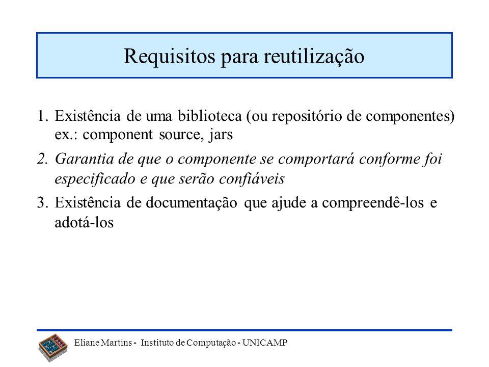 Requisitos para reutilização