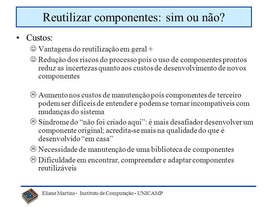 Reutilizar componentes: sim ou não