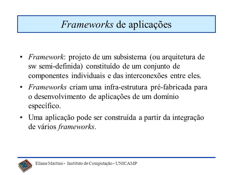 Frameworks de aplicações