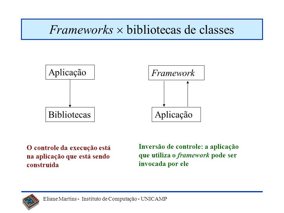 Frameworks  bibliotecas de classes