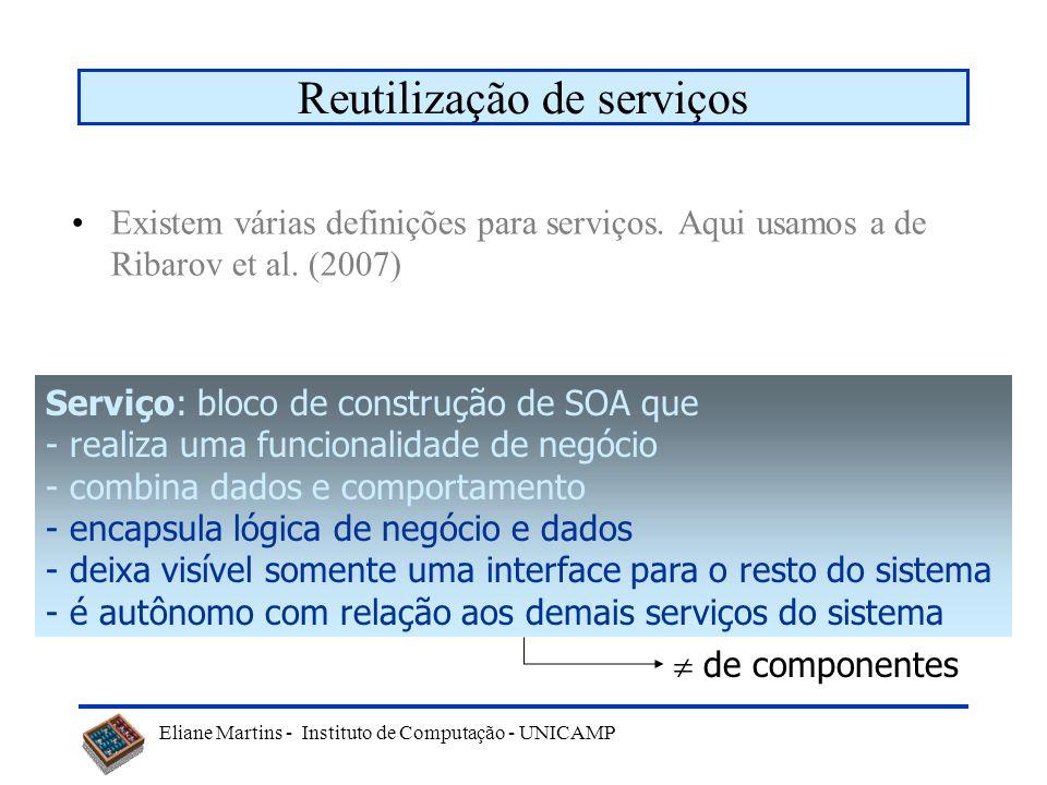 Reutilização de serviços