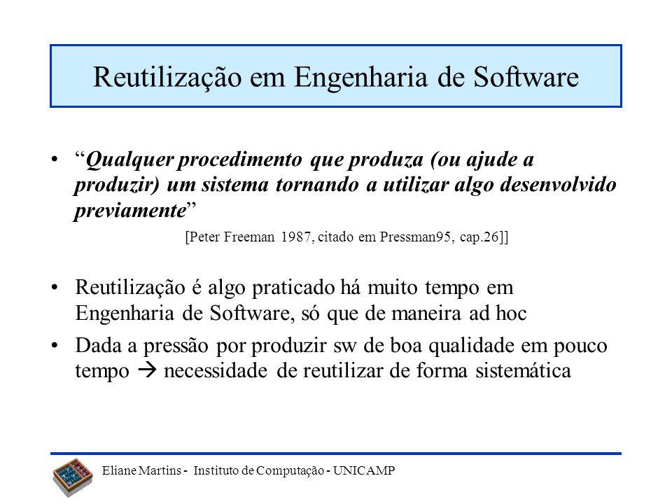 Reutilização em Engenharia de Software