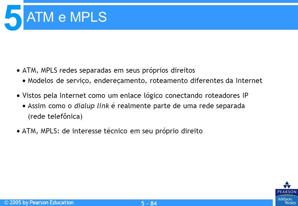 ATM e MPLS ATM, MPLS redes separadas em seus próprios direitos