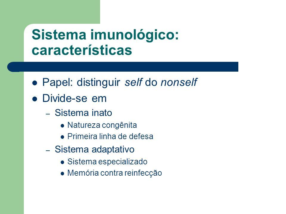 Sistema imunológico: características
