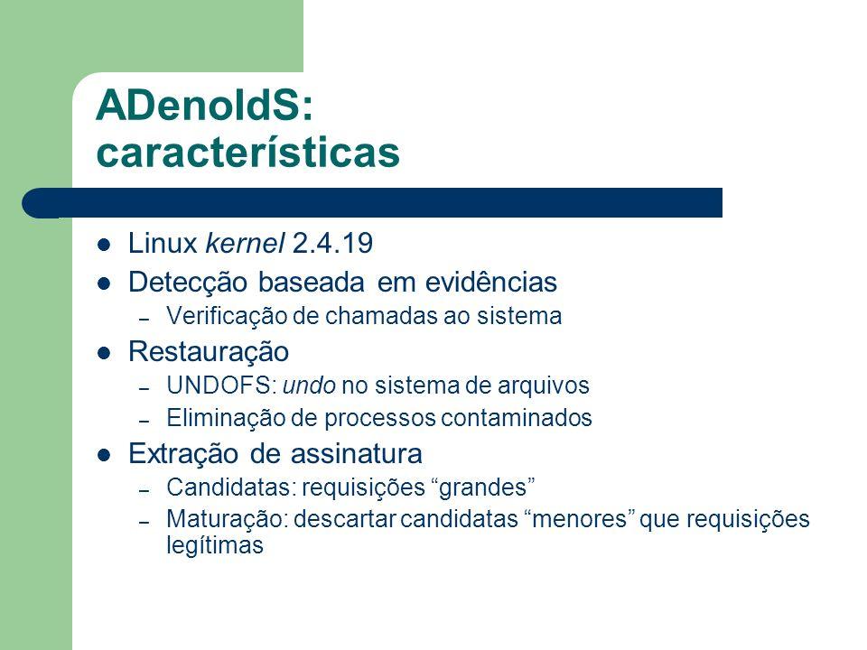 ADenoIdS: características