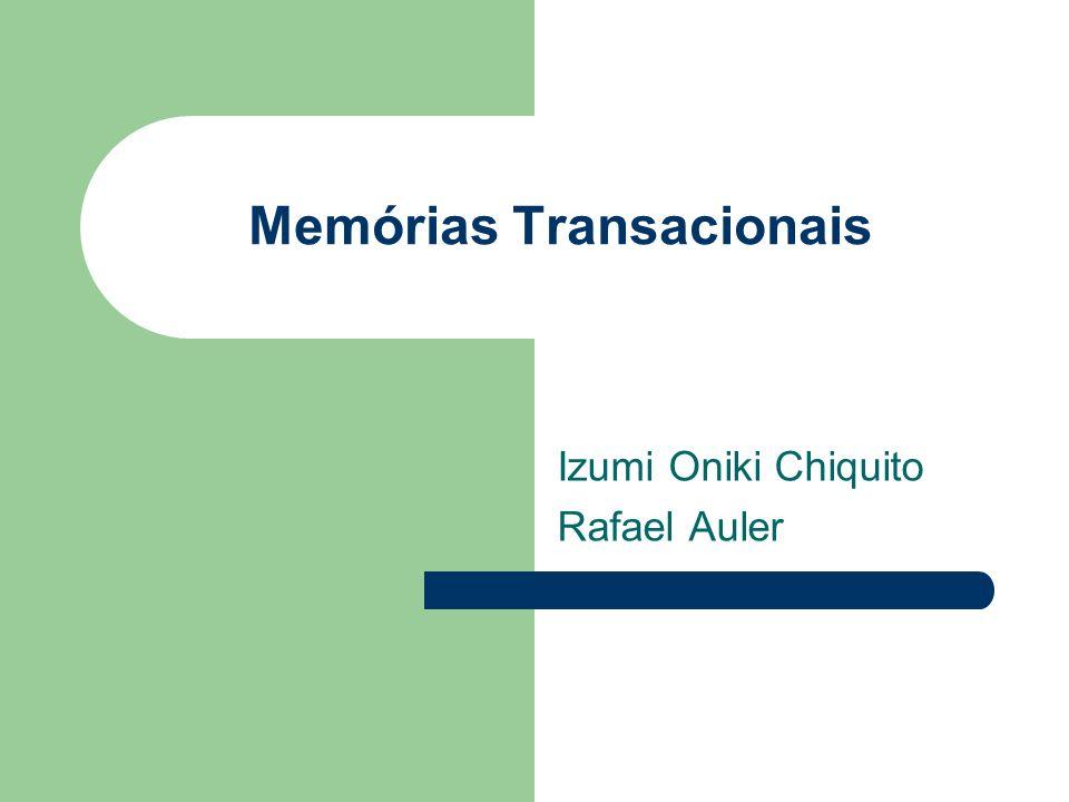Memórias Transacionais