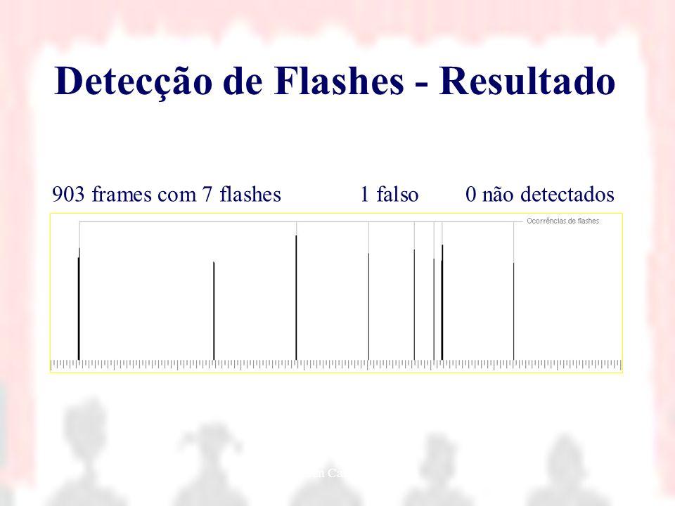 Detecção de Flashes - Resultado