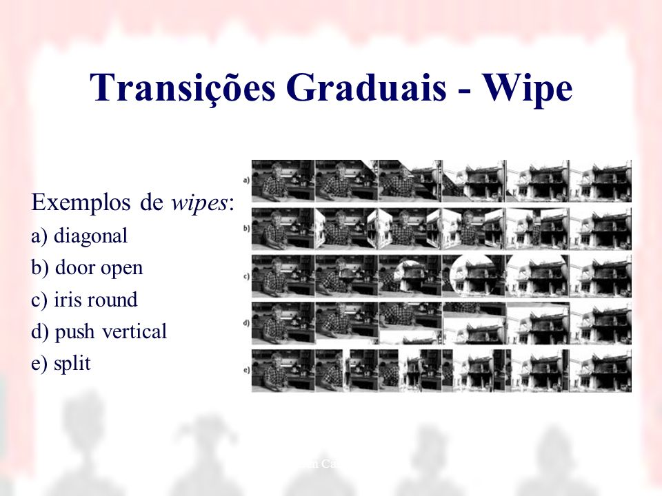Transições Graduais - Wipe