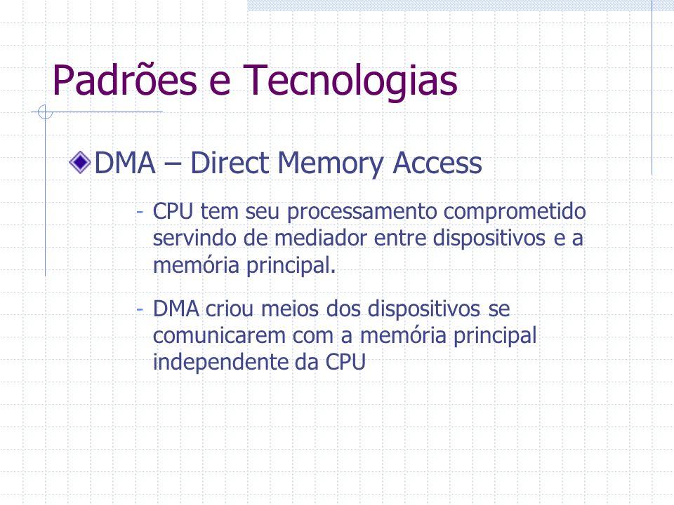 Padrões e Tecnologias DMA – Direct Memory Access