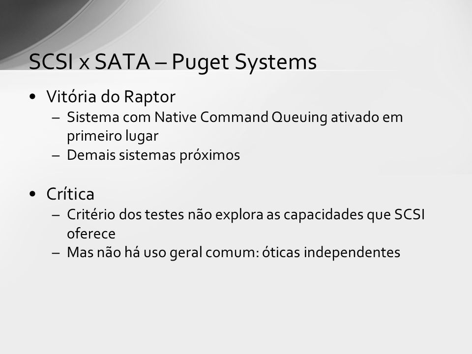 SCSI x SATA – Puget Systems