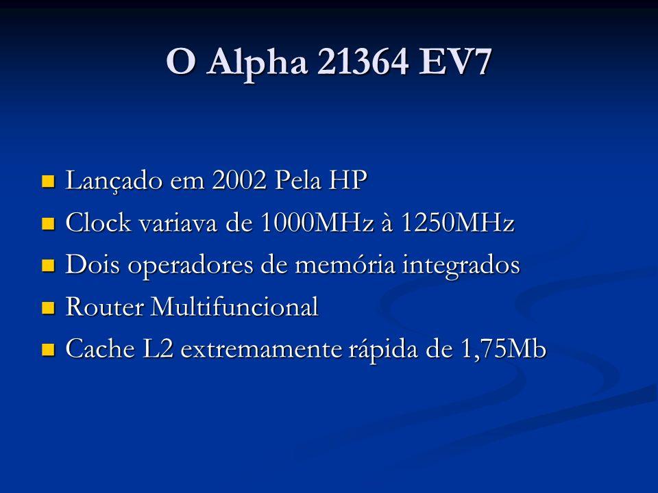 O Alpha 21364 EV7 Lançado em 2002 Pela HP