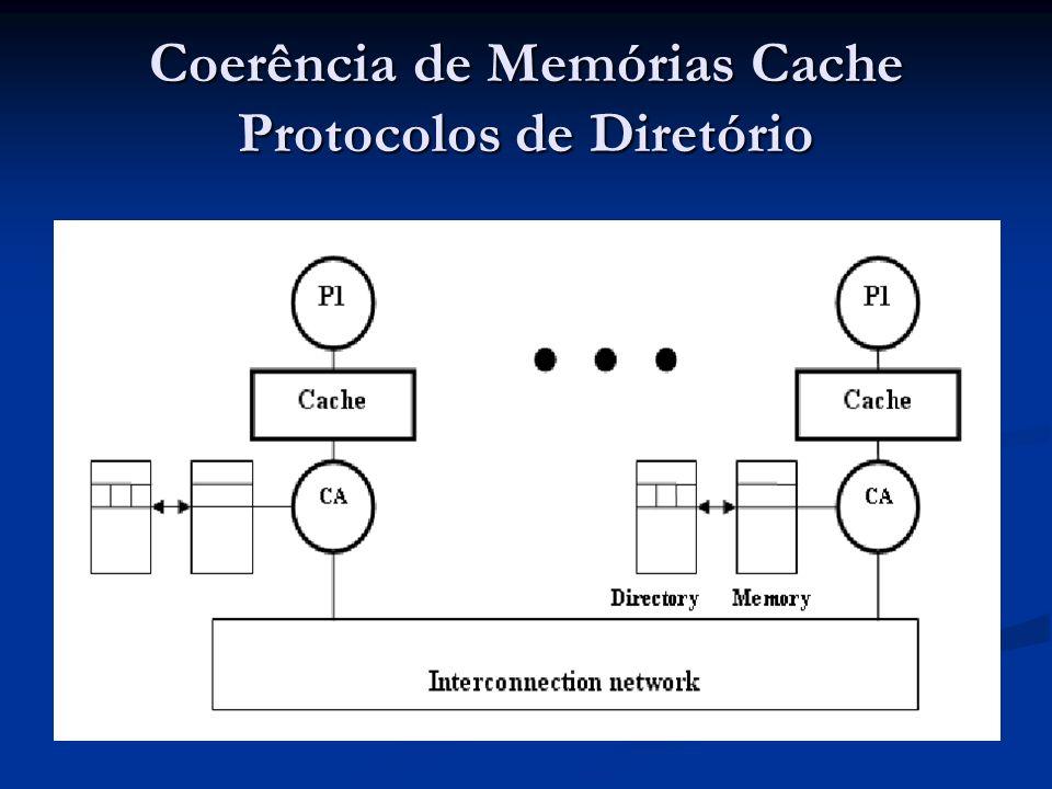 Coerência de Memórias Cache Protocolos de Diretório