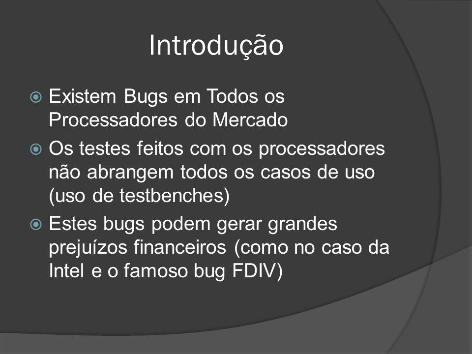 Introdução Existem Bugs em Todos os Processadores do Mercado