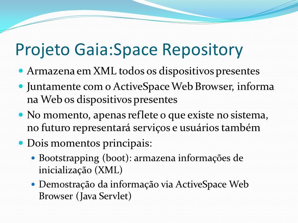 Projeto Gaia:Space Repository