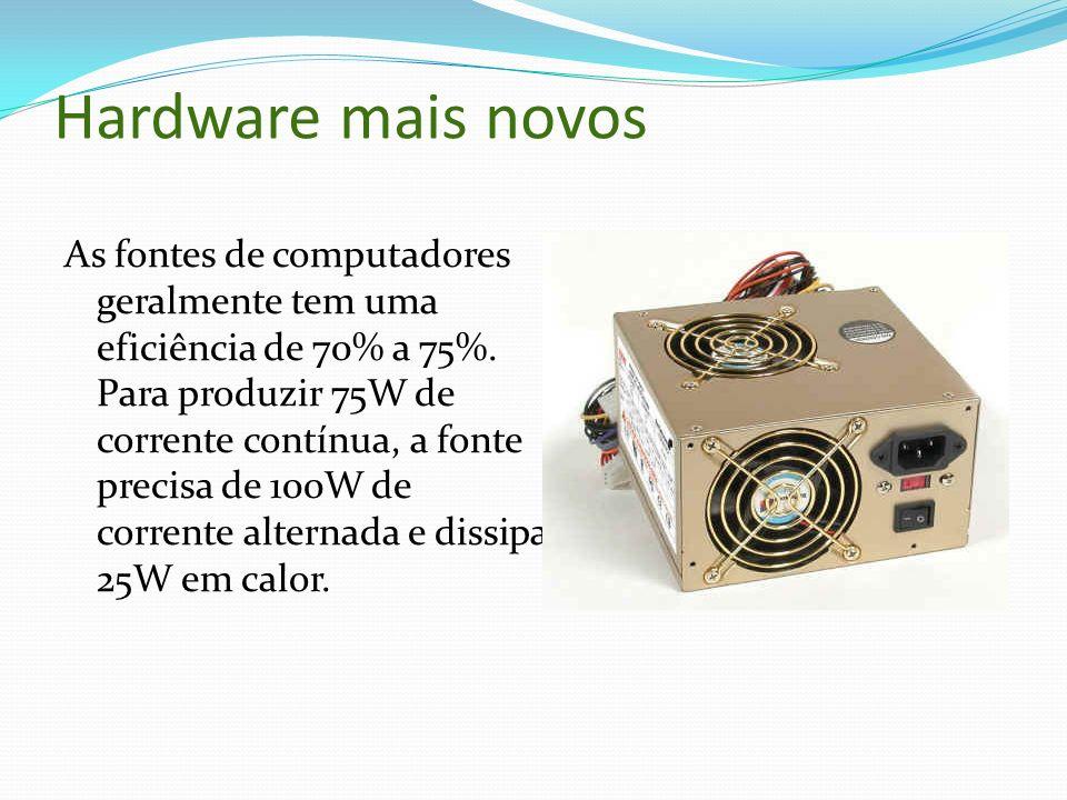 Hardware mais novos
