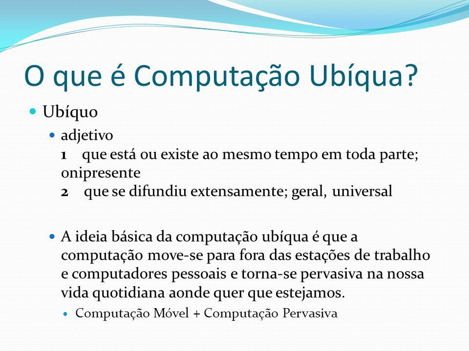 O que é Computação Ubíqua