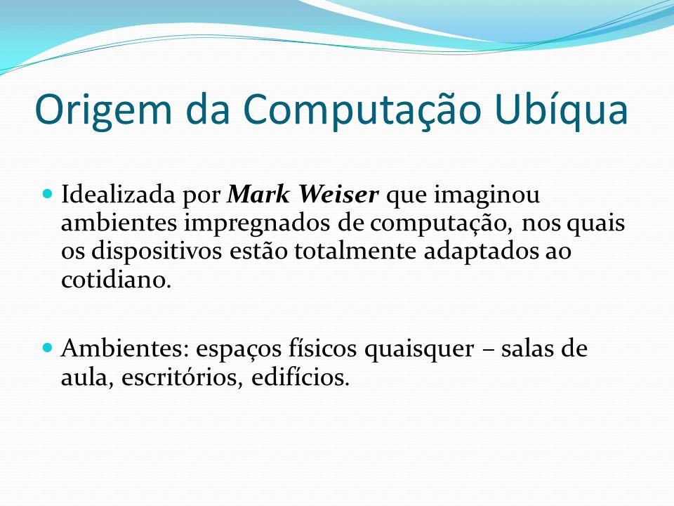 Origem da Computação Ubíqua