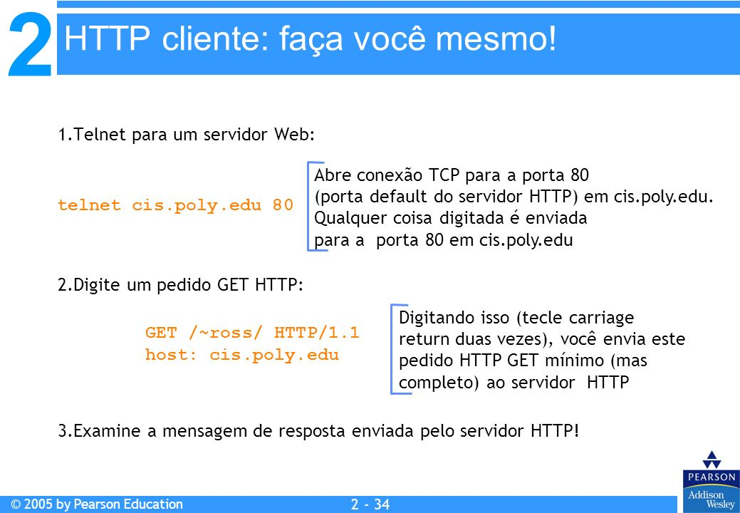 HTTP cliente: faça você mesmo!