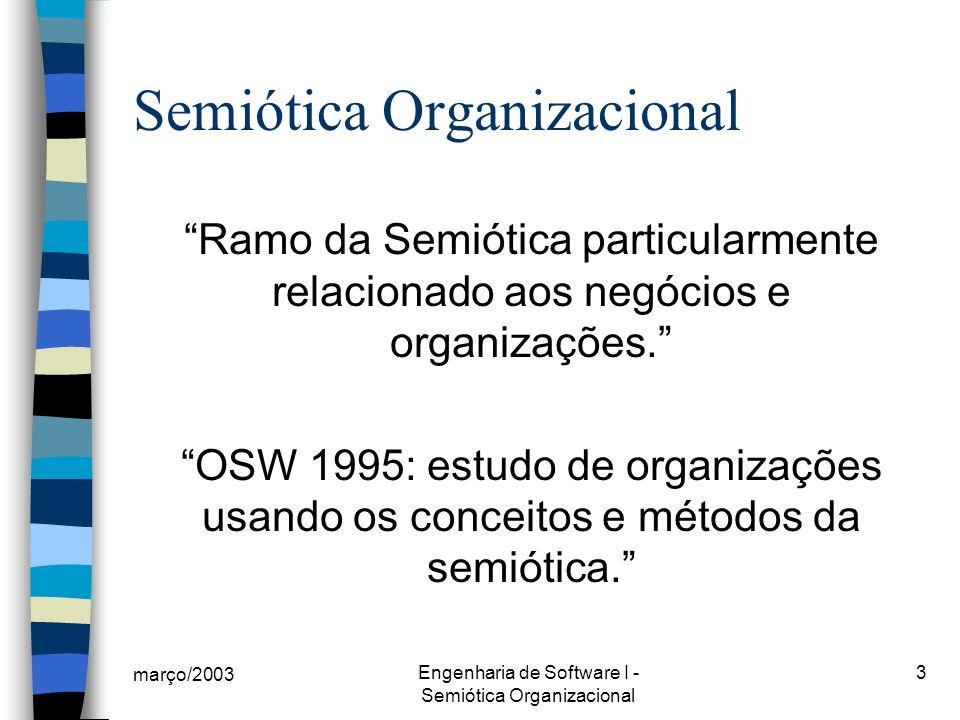 Semiótica Organizacional