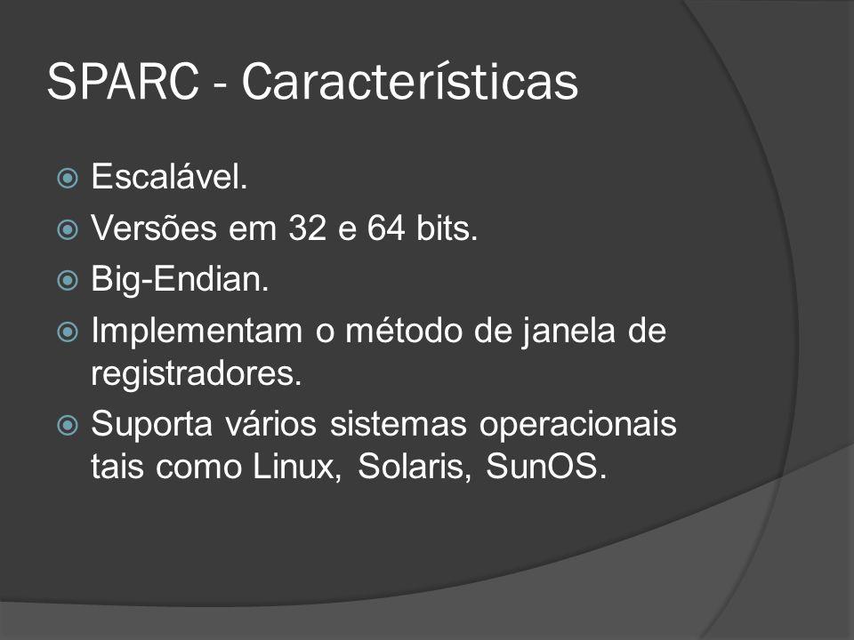 SPARC - Características