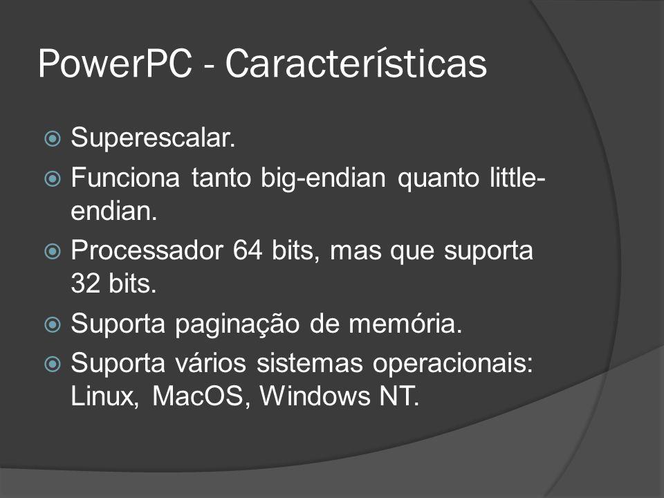 PowerPC - Características