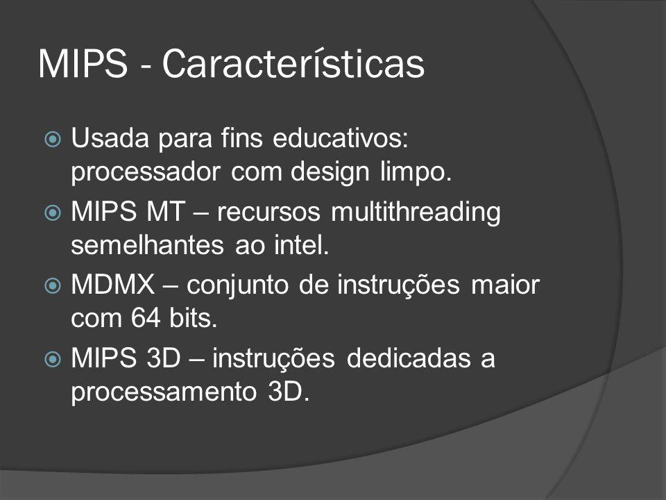 MIPS - Características