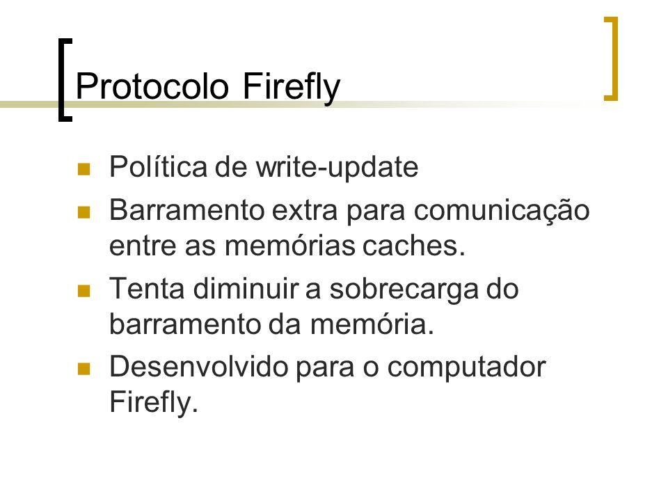 Protocolo Firefly Política de write-update