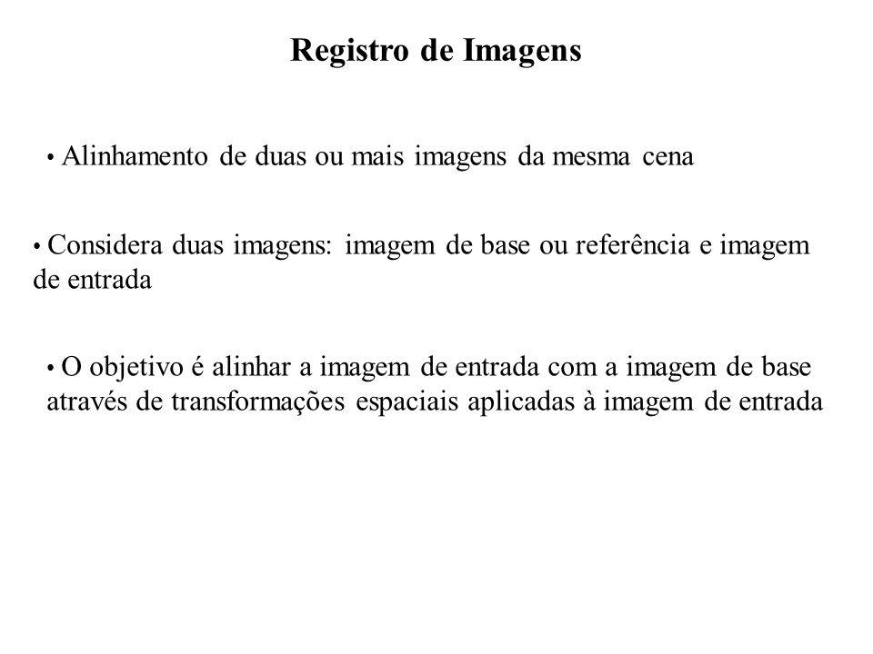 Registro de Imagens de entrada